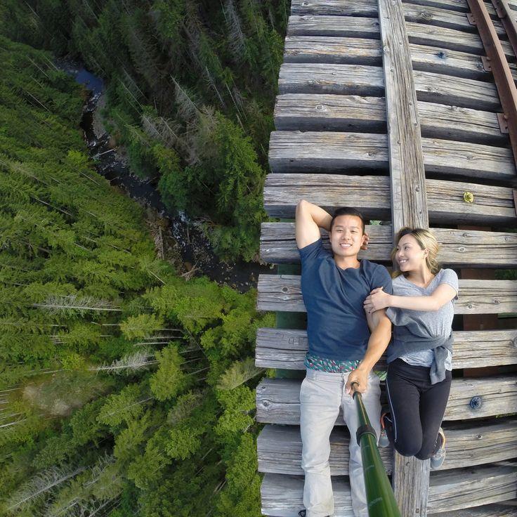 360 ft up Washington's best kept secret. Photo by Angelina Moua.