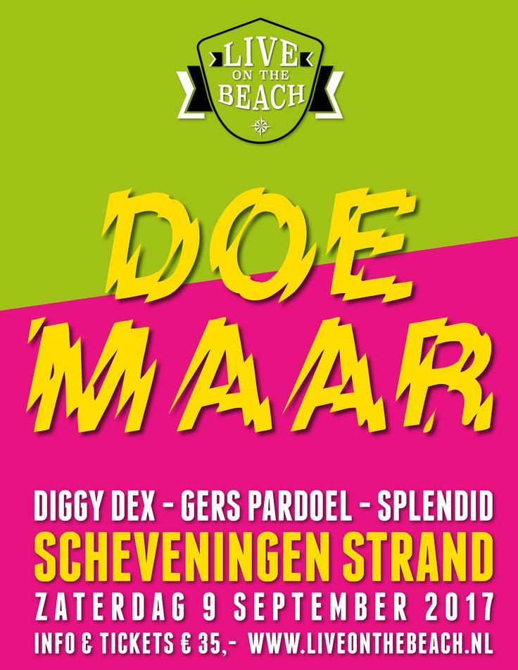 Live on the Beach - Scheveningen Strand  Doe Maar Zaterdag 9 September 2017