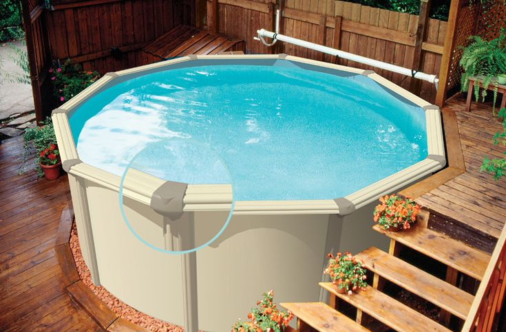 Best 25 portable swimming pools ideas on pinterest - Above ground swimming pool rental ...