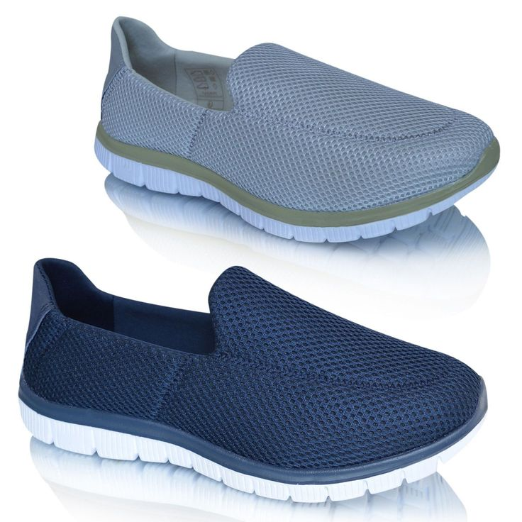 http://www.ebay.co.uk/itm/Mens-Casual-Slip-On-Flex-Memory-Foam-Get-Fit-Walking-Plimsolls-Trainers-Shoes-/282548606094?ssPageName=STRK:MESE:IT  Mens Casual Slip On Flex Memory Foam Get Fit Walking Plimsolls Trainers Shoes  Memory foam trainers and blue trainers mens are swarming with different brands, makers and sticker costs. Also, remembering that there are different makers for mens grey trainers, mens designer trainers, mens fashion trainers and mens slip on pumps which stand head and…