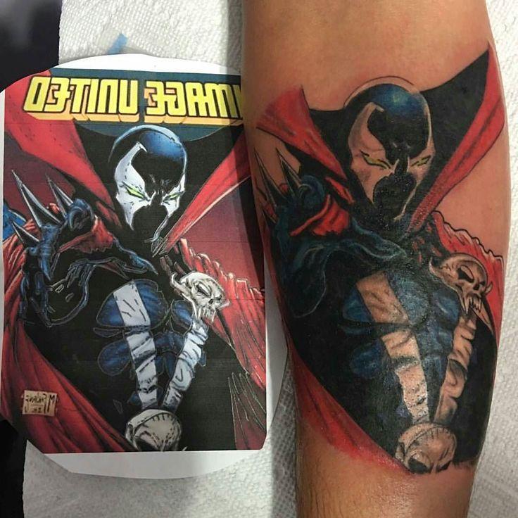 Christopher Muskopf @inkfeenchristopher Miami #tattwho #tattoo #tattoos #tattooartist #tattooartists #tattooist  #tattooer #artist #tattoolife #instaart #instatattoo #tattoodesign #tattooed #ink #inked #tattooaddict #tattooart #art #photooftheday #instagood #instastyle #instabeauty #bodyart #tattooidea #tattoooftheday #comic #comicbook #spawn #miami #florida