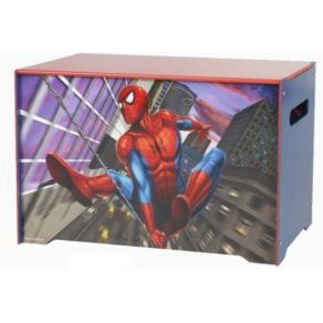 Förvaringsmöbler - Disney - Spiderman Förvaringskista