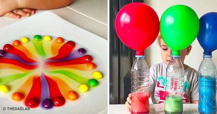 16 επιστημονικά πειράματα που τα παιδιά σας θα θυμούνται για πάντα. - Τι λες τώρα;