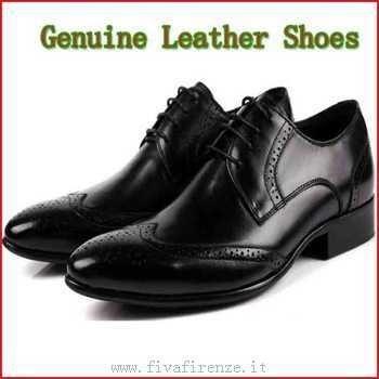 Abito nero uomo scarpe osiris