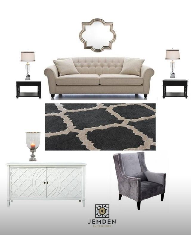 A design concept for a lounge room