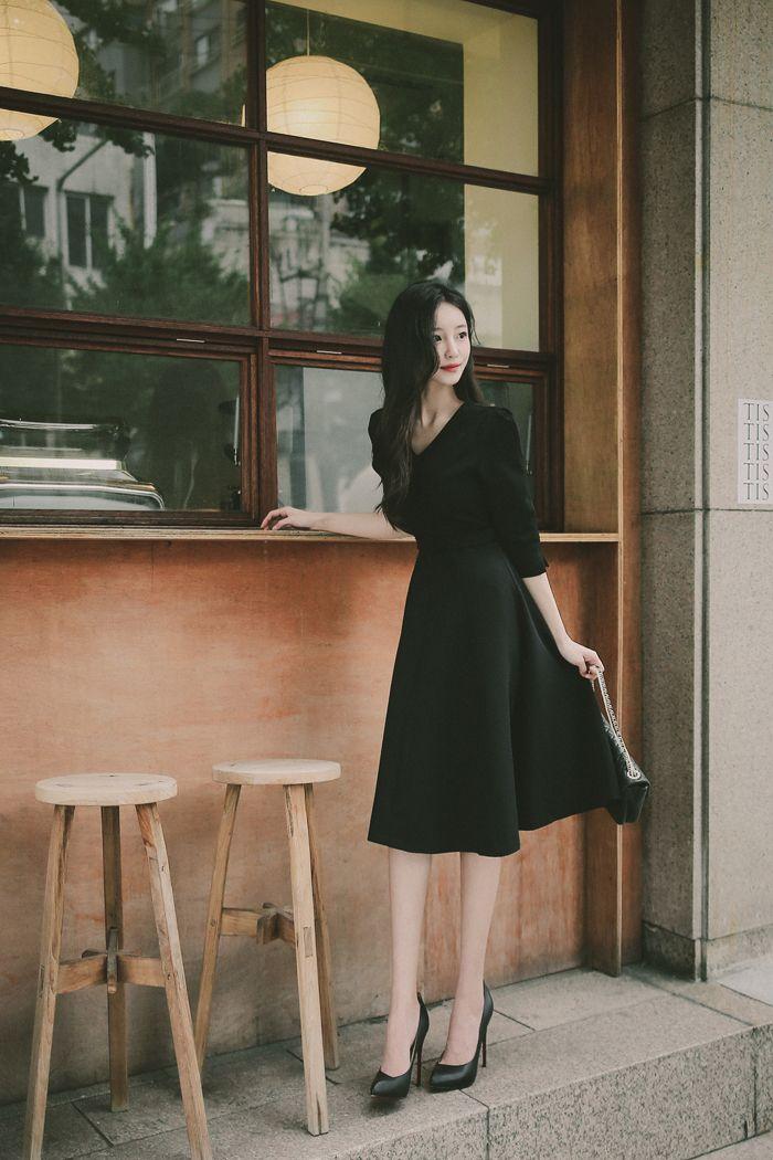 milkcocoa daily 2020 feminine classy look gaya model pakaian gaya model pakaian korea wanita