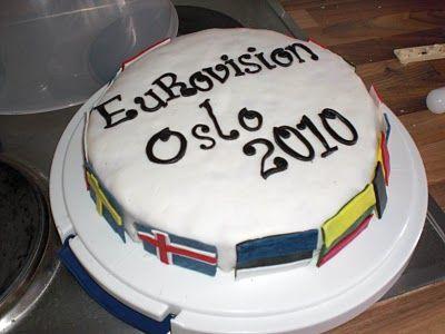 Torte für den Songcontest