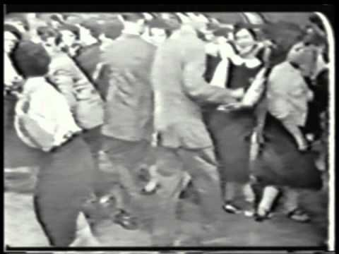 """American Bandstand: We used to watch it every afternoon in the day room when I was in the army. """"At the Hop"""", by Danny and the Juniors: I believe that was 1956. Notice the dress code."""