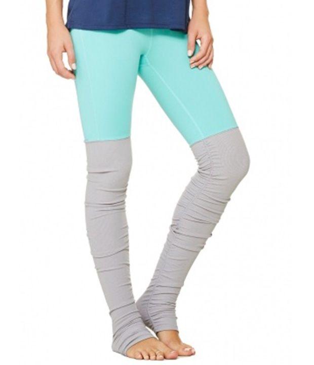 Leggings For Spring | Leg Warmer: ALO Yoga Goddess Ribbed Legging More Goddesses Ribbed, Goddesses Ribs, Legs Warmers, Amethysts, Amazing Legs, Ribs Legs, Spring, Legging Solid Poole Steel, Leggings 12 Amazing Leggings For Spring - SELF