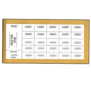 Penny Sale Tickets (500 sheets per bundle)