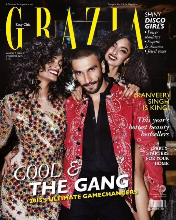(Ranveer) Singh is King: Scorches the Grazia cover! | PINKVILLA