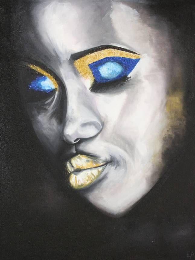 portrait peinture à l'huile