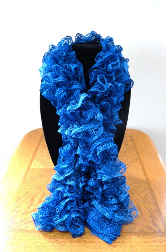 54 Best Knitted Scarves Images On Pinterest