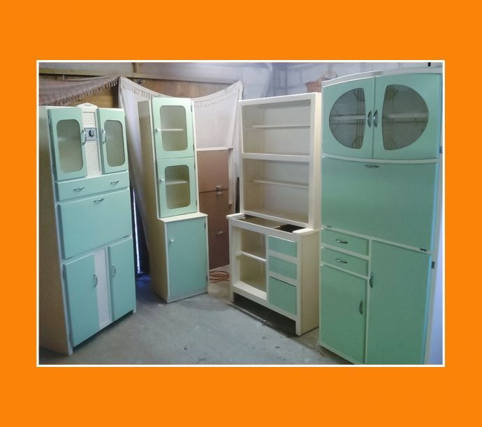 60s Vintage Kitchen Cabinets