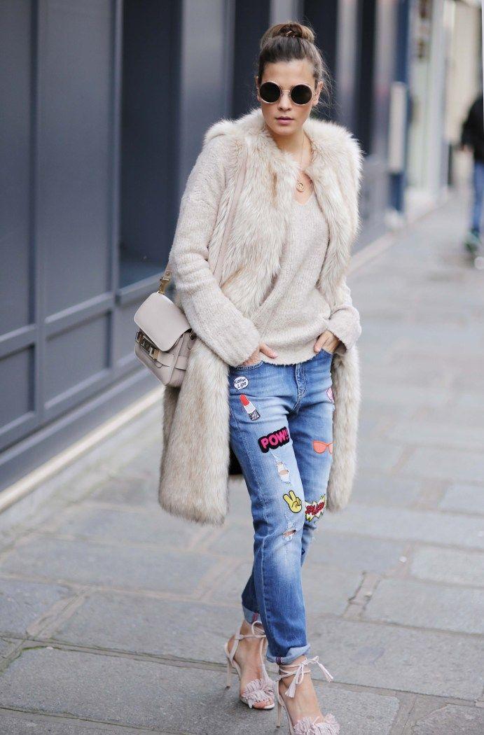 Mit Patches könnt ihr alte Jeans super einfach aufpimpen