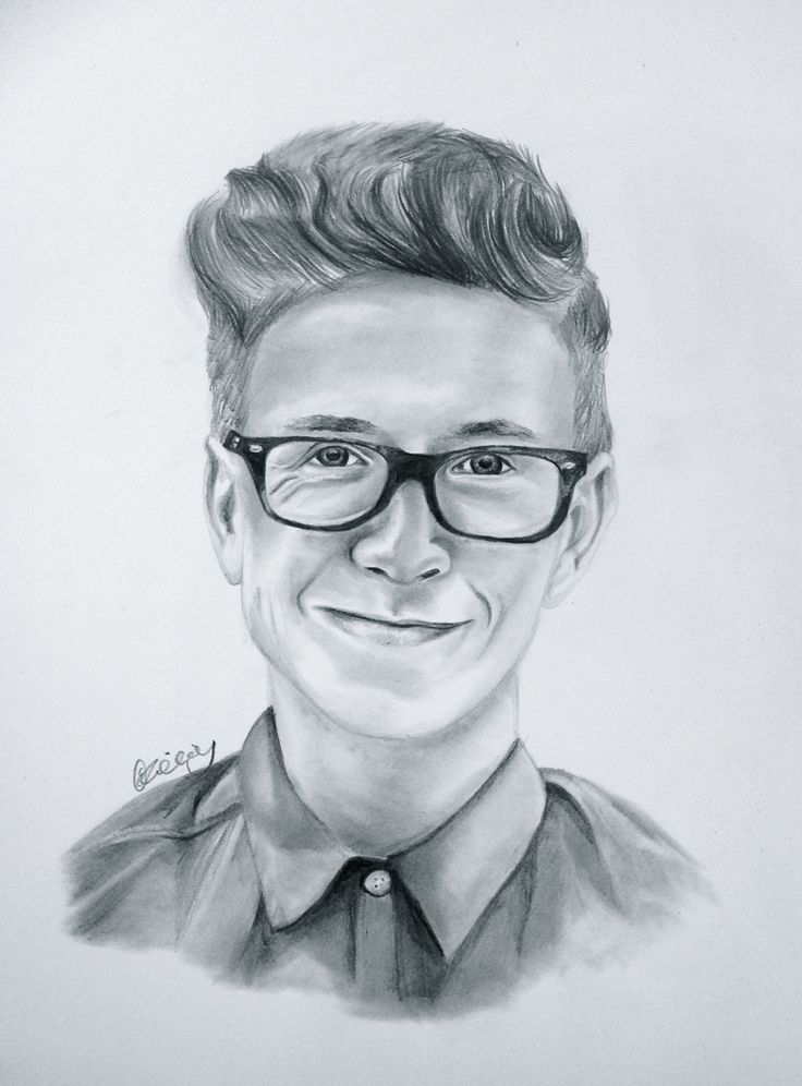 Portrait of tyler oakley