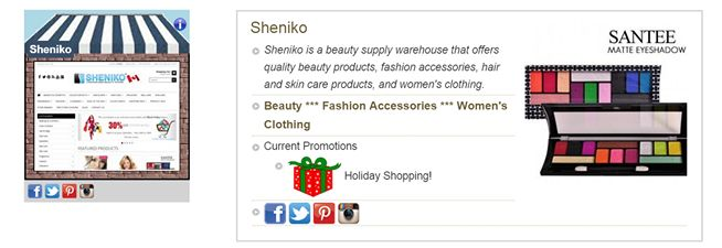 Check us out on eView Village. Canada's #1 online shopping destination for Canadian shops.