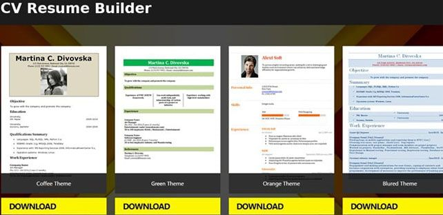 Are you looking a free resume builder app for creating a resume for