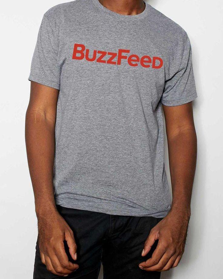 Classic BuzzFeed Logo T-Shirt – Shop BuzzFeed
