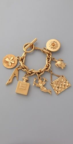 don't have words to express the love I feel for this vintage Chanel charm bracelet. You may buy it for me.