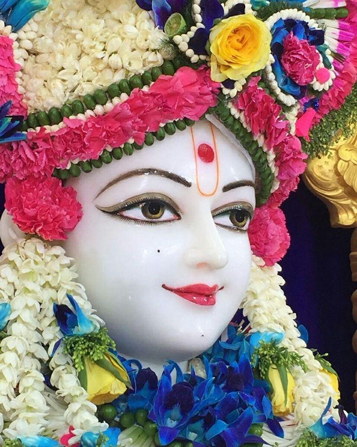 Flower cloth - lord Swaminarayan - Rupala Ghanshyam