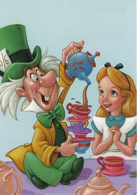 vintage Alice in Wonderland @Patricia K. huston @BJ Estrada  Alice in this picture looks like Addison