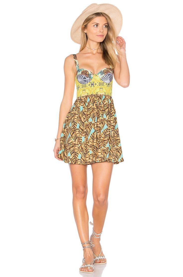 Maaji Lavender Lemonade Dress in Yellow Multi