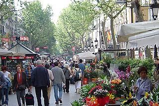 Las Ramblas :) Can't wait to visit with my sweetie in April.