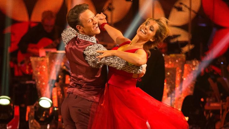 Louise Redknapp & Kevin Clifton Foxtrot to 'Tears Dry On Their Own' - St...