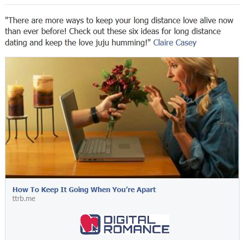 how to keep an online relationship going