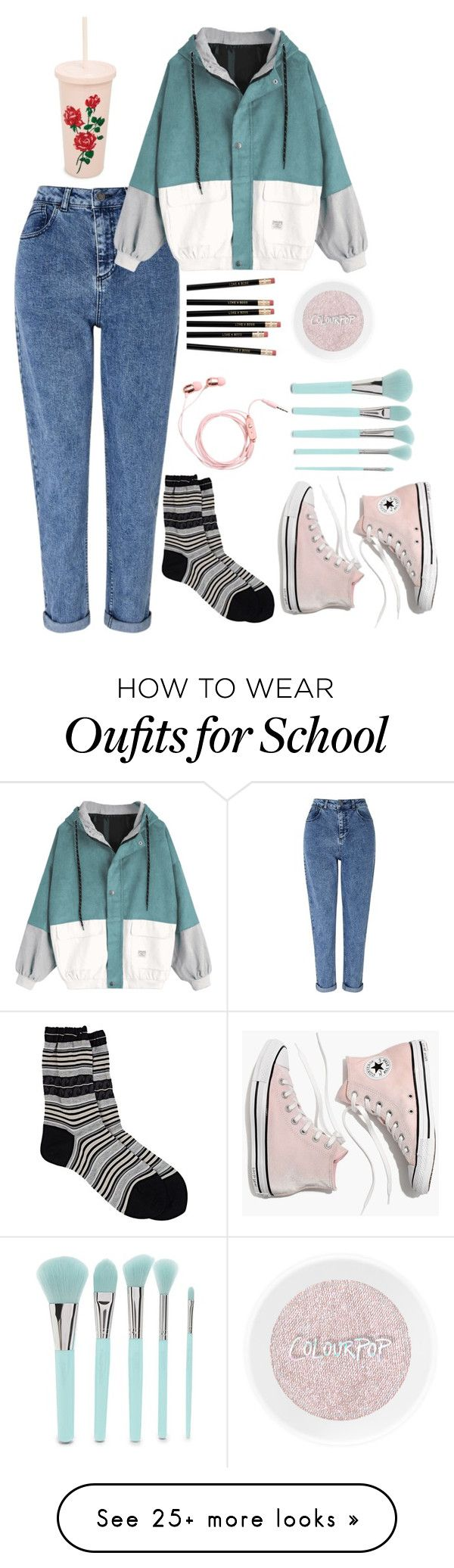 """""""story"""" by katniss1212 on Polyvore featuring Miss Selfridge, Antipast, Madewell, Forever 21 and ban.do"""