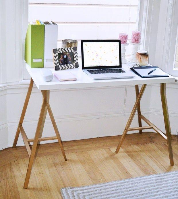 21 Awe Inspiring Ikea Desk Hacks That Are Affordable And Easy Ikea Desk Hack Ikea Desk Ikea Diy