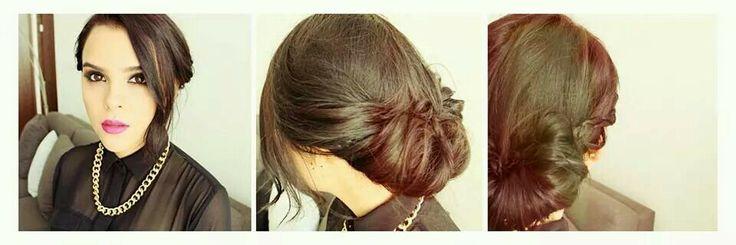 Peinado #yuya♡.