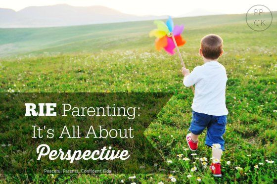 RIE Parenting: It's All about Perspective