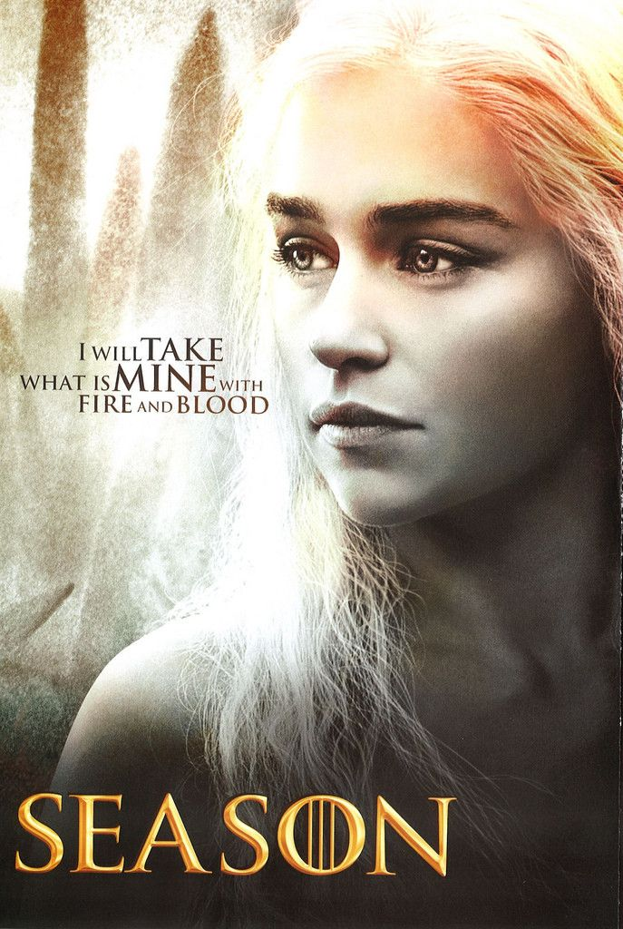 Game of Thrones-yeah!  I can hardly wait til the new season starts-the ONLY reason we keep HBO!!!