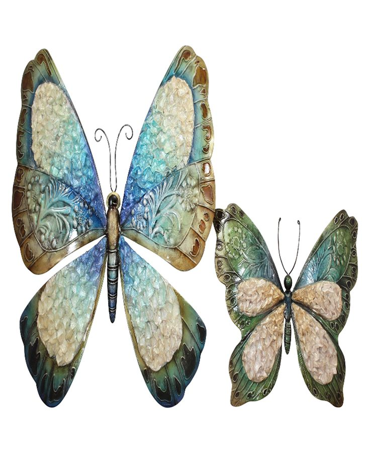 Amazing Butterfly wall art outdoor canvas ! A product of Darlin NZ