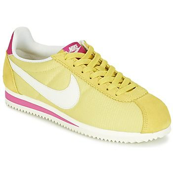 Nike Cortez in Yellow, how cute is that? Now @spartoouk with free delivery