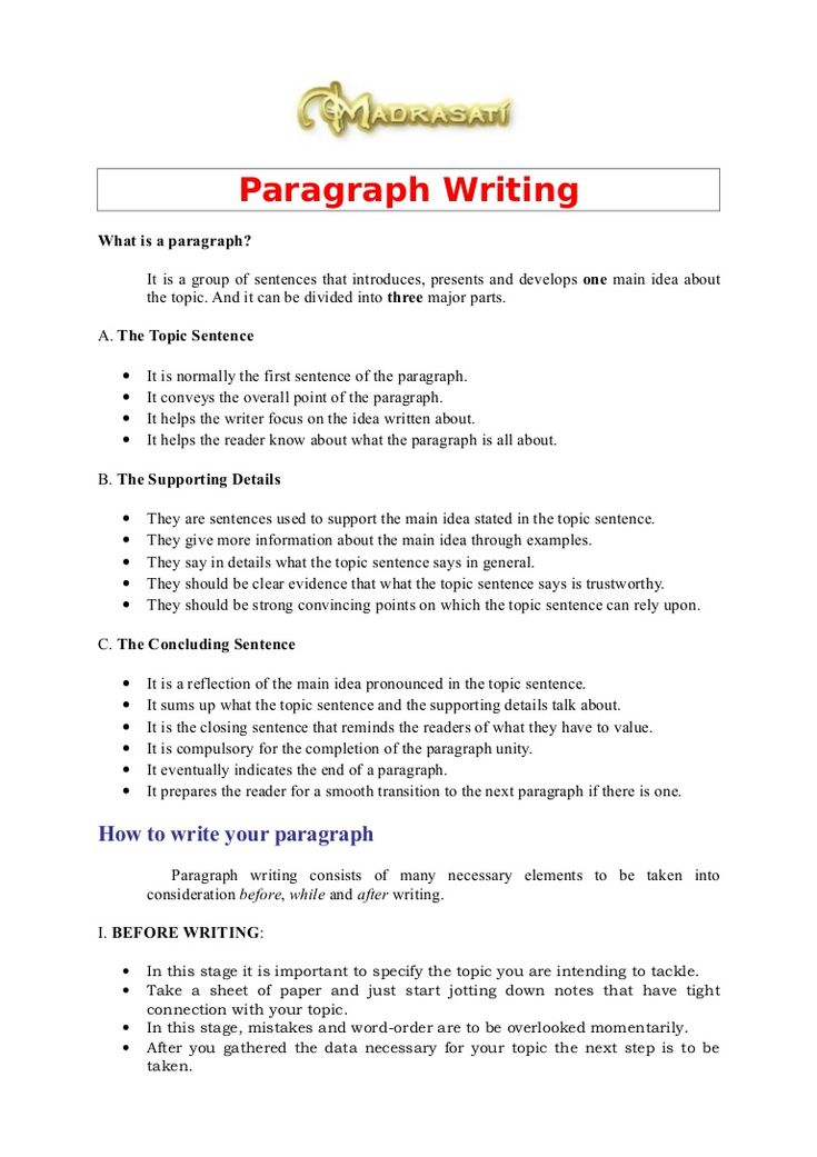 25+ best ideas about Paragraph writing on Pinterest | Topic ...
