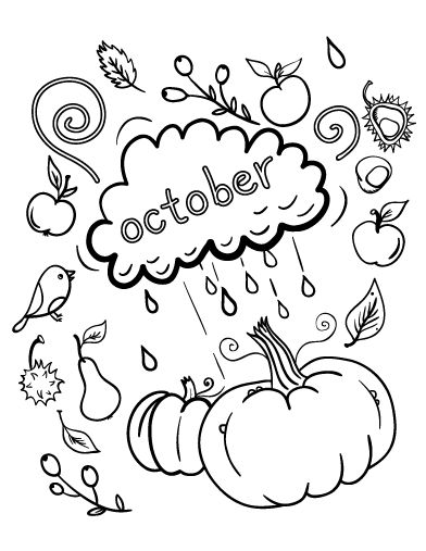 321 Best Images About Coloring Pages At Coloringcafe Com October Coloring Pages Printable