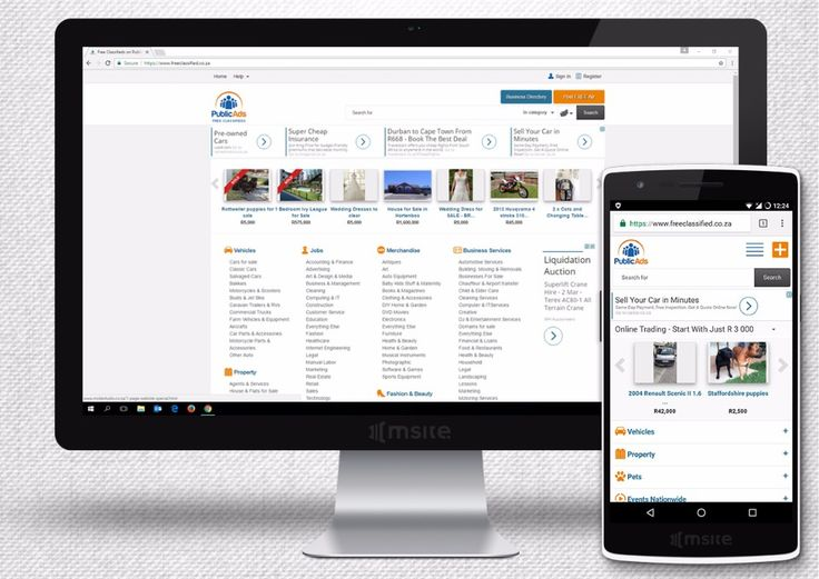 We have worked with PublicAds for over 7 years, continuously working on their SEO | MSite Studio