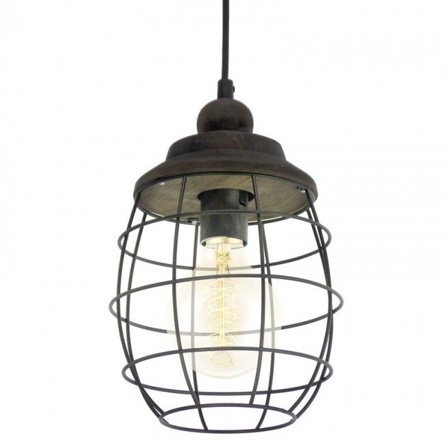 This Light Fitting Adds A Nautical Feeling To Any Room.