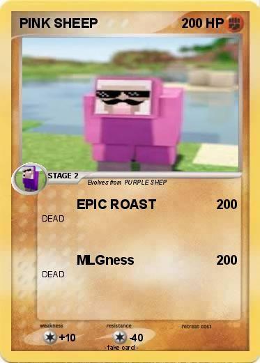 Pokemon PINK SHEEP