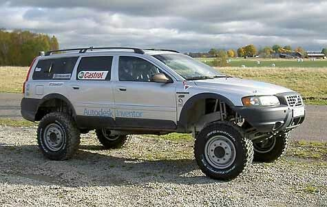 Volvo XC70 with a lift kit. Definitely an all-terrain vehicle