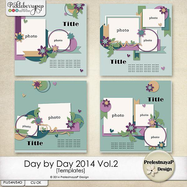 Day by Day 2014 Vol.2 Templates by PrelestnayaP Design