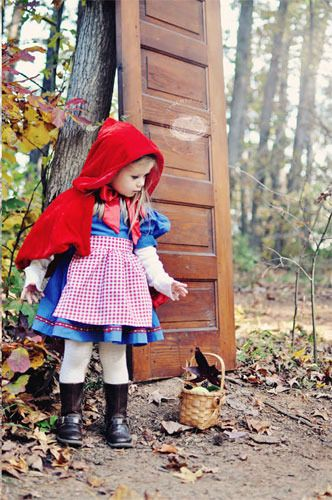 Cómo hacer un disfraz casero de Caperucita Roja