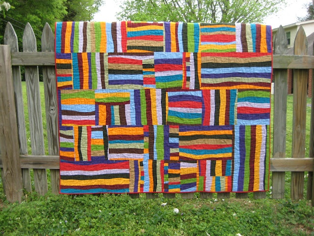 groovy quilt: Quilt Inspiration, Fun Quilt, Life Lessons, Quilts, 2012 Finishes, Scrap Quilt, Fabric