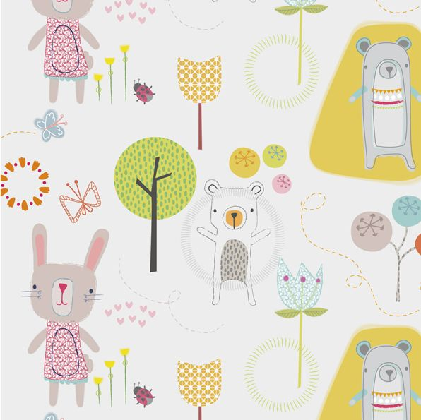 repeat prints for small humans by Rosalind Maroney, via Behance