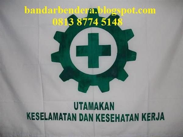 Bendera Safety K3 Standar Disnaker drill  Cocok untuk Proyek,Pabrik,Kantor Dll Detail deskripsi: Bahan Drill ukuran 135 x 90 cm (standar disnaker) Harga Rp. 85.000,- selengkapnya di : hub: