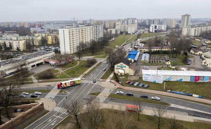 Sztuka filmowania  skrzyzowanie Sw. Wincentego  iGilarskiej w Warszawie http://dronstudio.eu