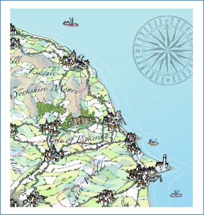 N.Yorkshire Map